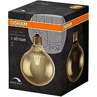 Osram Led Vintage Globe Gold 4'Lü Paket Dimlenebilir Sarı Işık 650 Lm E27 Duy Ampul