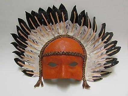 Máscara de Bal (cuir- de indio