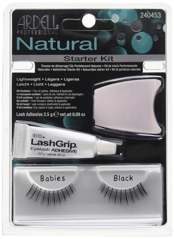 a9e5eda1cd4 Amazon.com : Ardell Natural Lashes, 109 Black : Fake Eyelashes And  Adhesives : Beauty