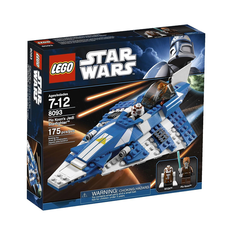 LEGO Star Wars Plo Koon 's Jedi Starfighter Baukasten Baukasten Baukasten – -Spiele Bau (Mehrfarbig, 8 Jahr (S), 14 Jahr (S)) 097895