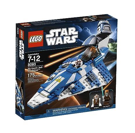 Amazon Lego Star Wars Plo Koons Jedi Starfighter 8093 Toys