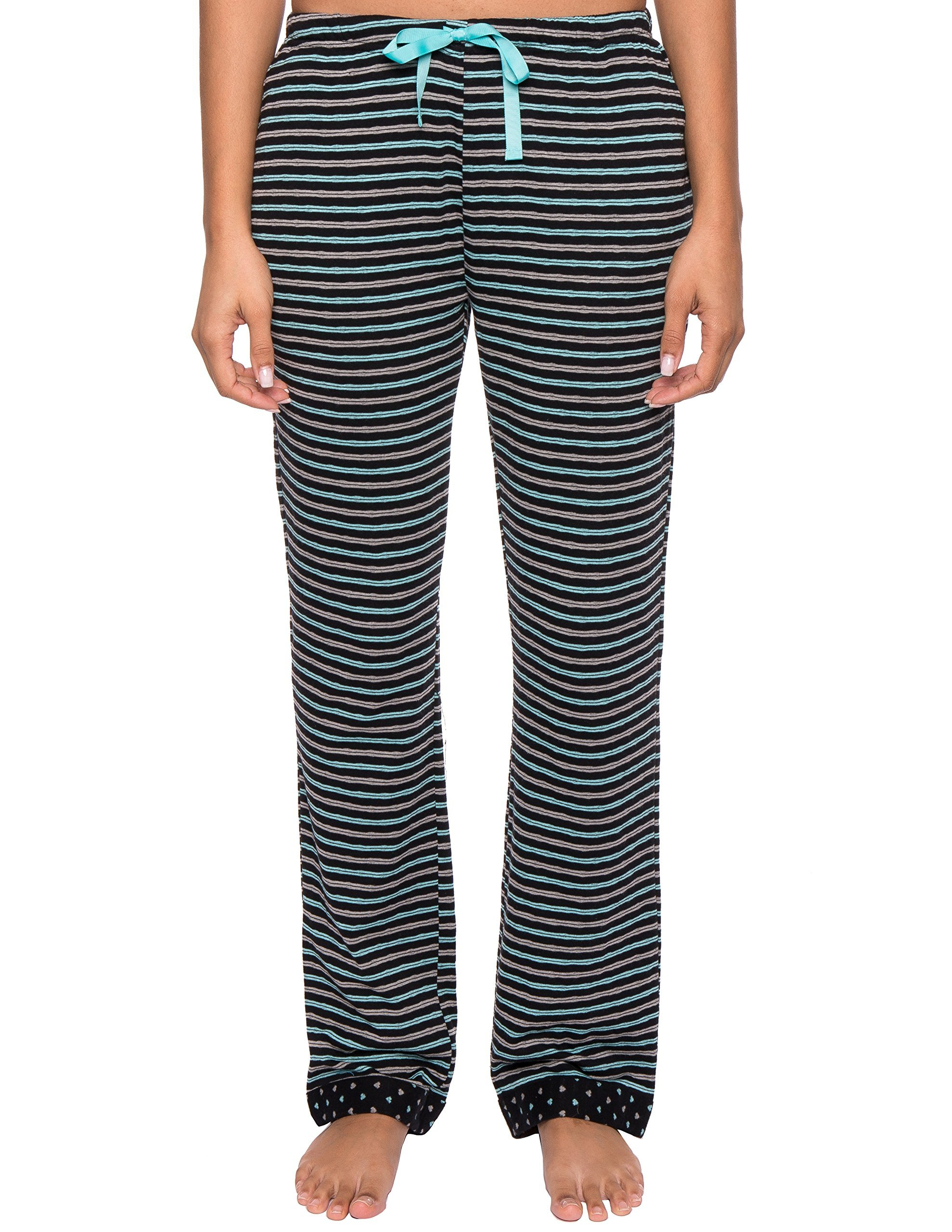 a4cf245cefd Noble Mount Womens Double Layer Knit Jersey Lounge Pants product image