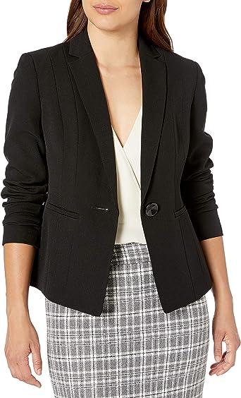 Kasper Womens Petite Size 1 Button Jacket