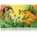 Anna by Anuschka Hand Painted Leather | Large Three Fold Checkbook Wallet/Clutch |