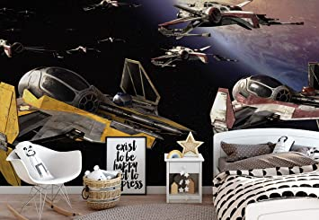Star Wars Papier Peint Decor Forwall Af1681ve Xxxl 416cm X 290cm