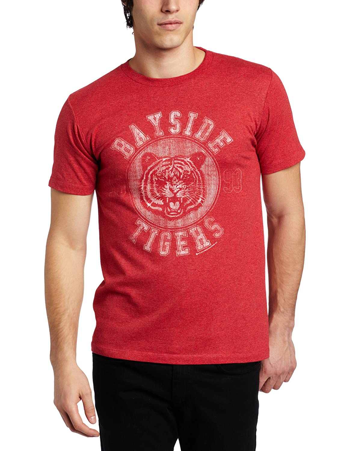 American Classics mens Saved By the Bell Newness T-shirt Red Large SBB573