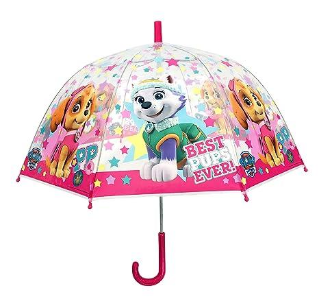 ATM ÉTÉ 17 Paraguas clásico, 64 cm, Transparente (Transparent)