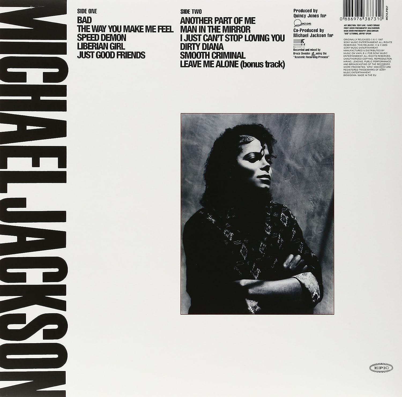Michael Jackson Bad Vinyl Amazoncom Music - Vinylboden nassraum