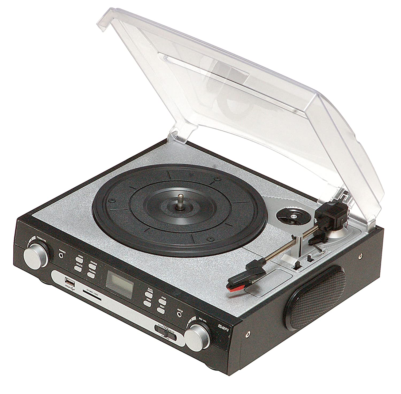Reflecta LP-USB/SD - Tocadiscos (MP3, 230V, 50 Hz, Negro, Plata ...