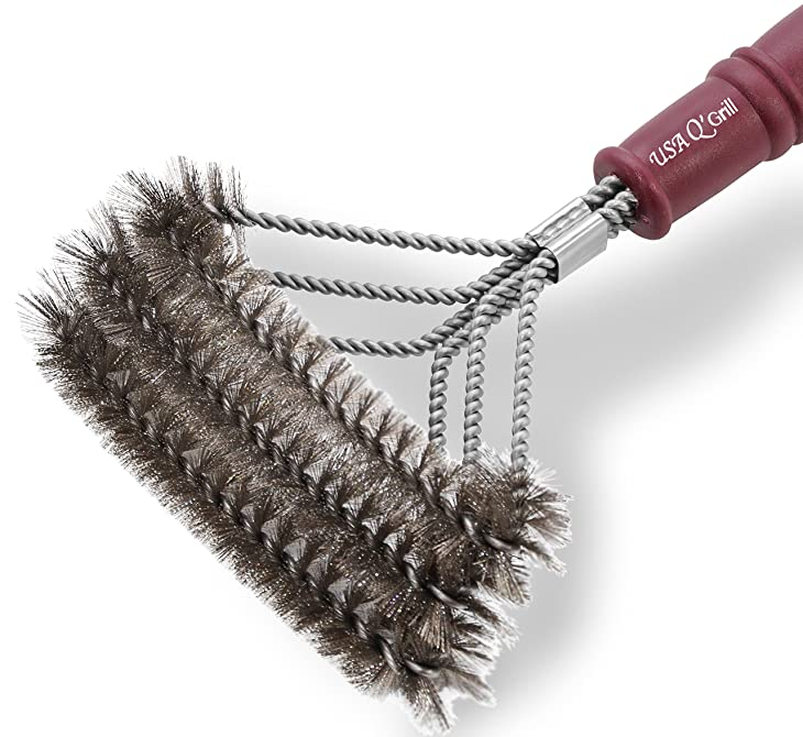 RUST Resistant BBQ Grill Brush Cleaner