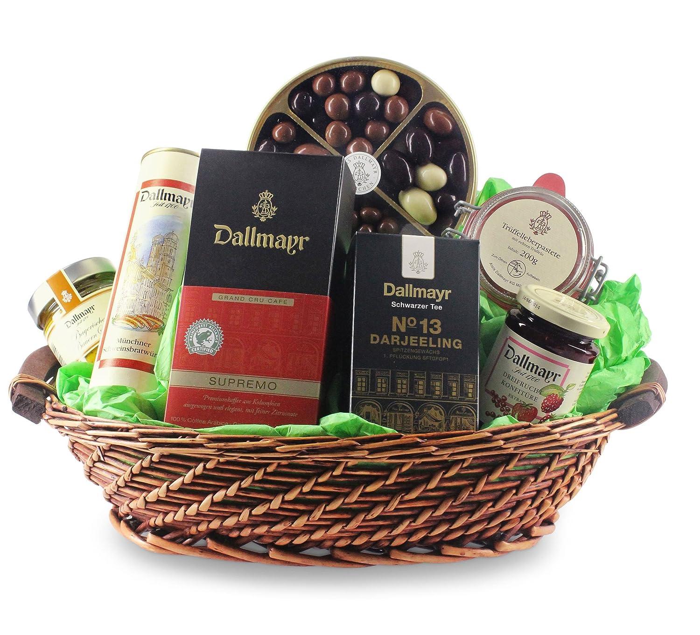 Dallmayr Geschenkkorb Gourmet Glanzlichter (7-teilig): Amazon.de ...