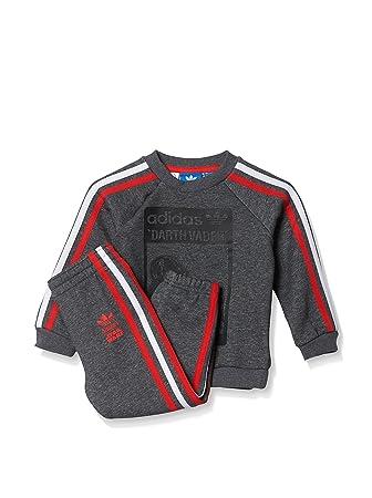 adidas Star Wars Darth Vader Trainingsanzug Kleinkinder Kinder Anzüge & Bodies
