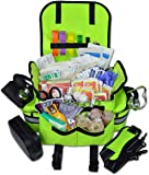 Lightning X Small First Responder EMT EMS Trauma Bag Stocked First Aid Fill Kit B