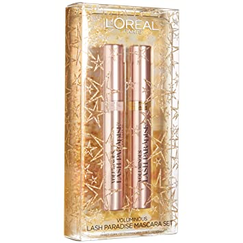 a6bc6632dcb L'Oreal Paris Lash Paradise Mascara & Lash Primer Limited Edition Gift Set,  Give