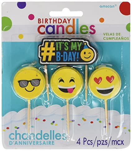 Image Unavailable Not Available For Color Emoji Birthday Candles