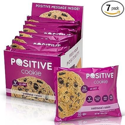 Oatmeal Raisin Gluten Free Kosher Vegan Protein Cookies (7 ...