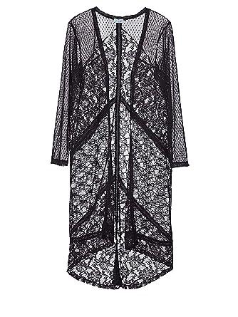 Damen Spitze Of Vokuhila Style Mantel Aus Angel xtdBhrsCQ