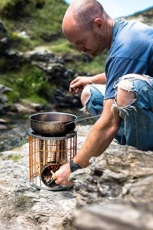 Horizon wood burning camping stove