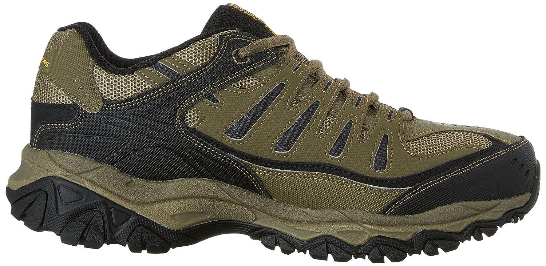 Skechers-Afterburn-Memory-Foam-M-fit-Men-039-s-Sport-After-Burn-Baskets-Chaussures miniature 85