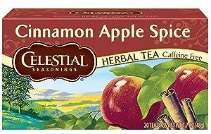 Celestial Seasonings Cinnamon Apple Spice Herbal Tea, 20 ct
