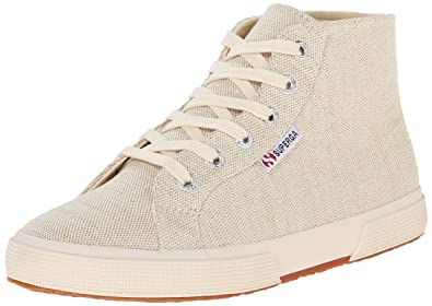Womens Shoes Superga 2095 Metallic Linen Natural