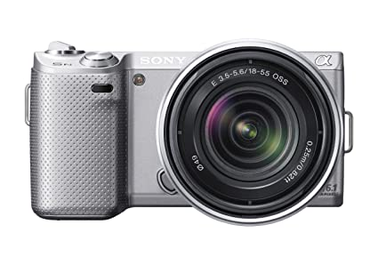 Sony nex 5n 16 1 mp compact interchangeable lens touchscreen camera with 18 55mm lens