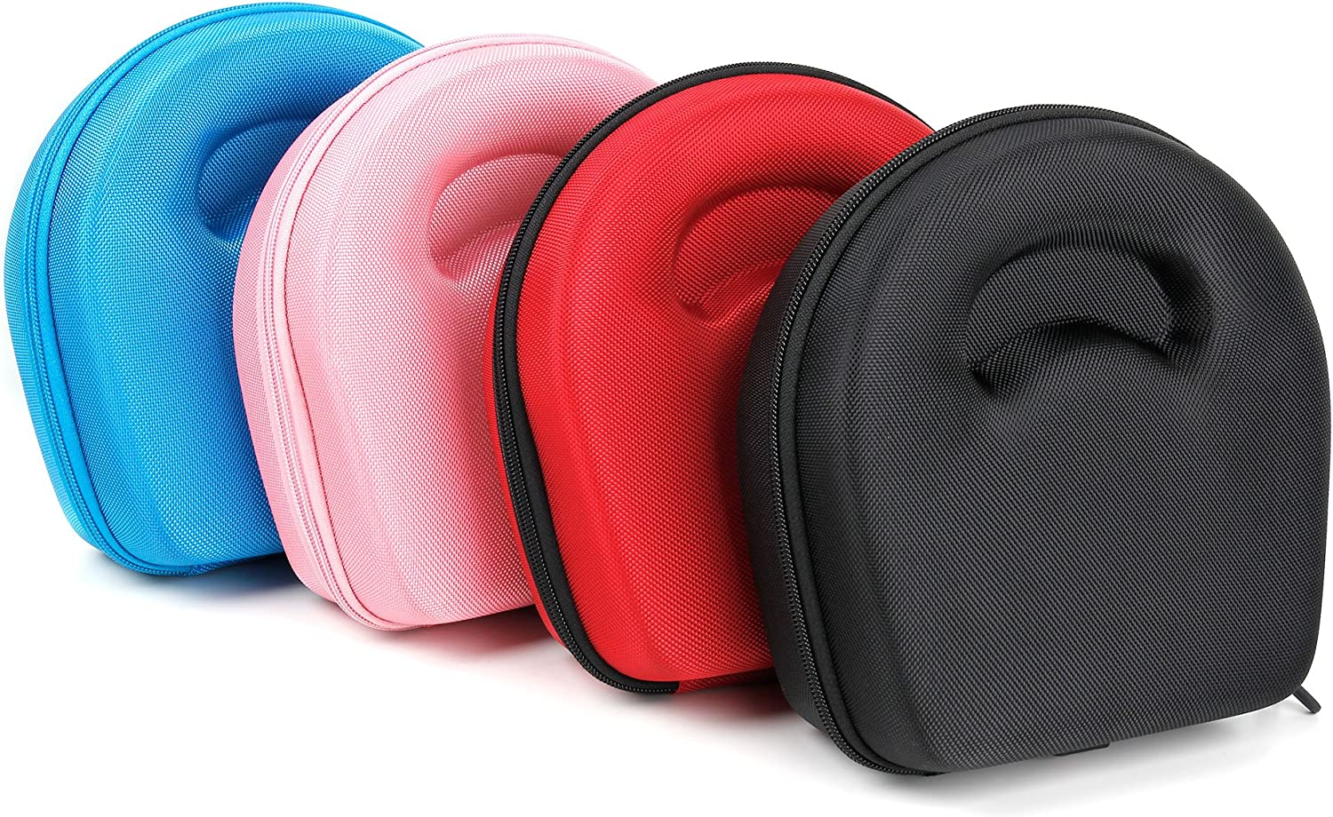 DURAGADGET Hard Blue Protective Shell Pouch Compatible with Picun HD200 Headphones NOT Included