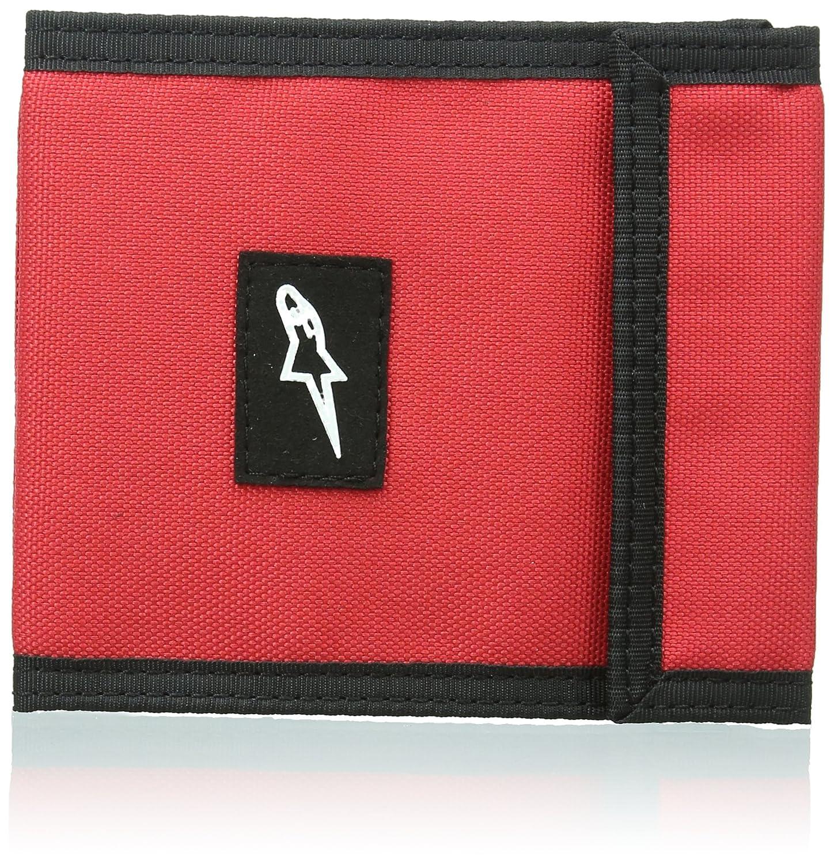 ALPINESTARS Men's Friction Bifold Wallet Red One Size Alpinestars Young Men's 1035-92003