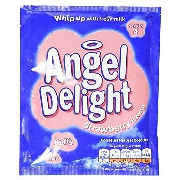 Amazoncom Angel Delight Strawberry 59g Pudding Mixes
