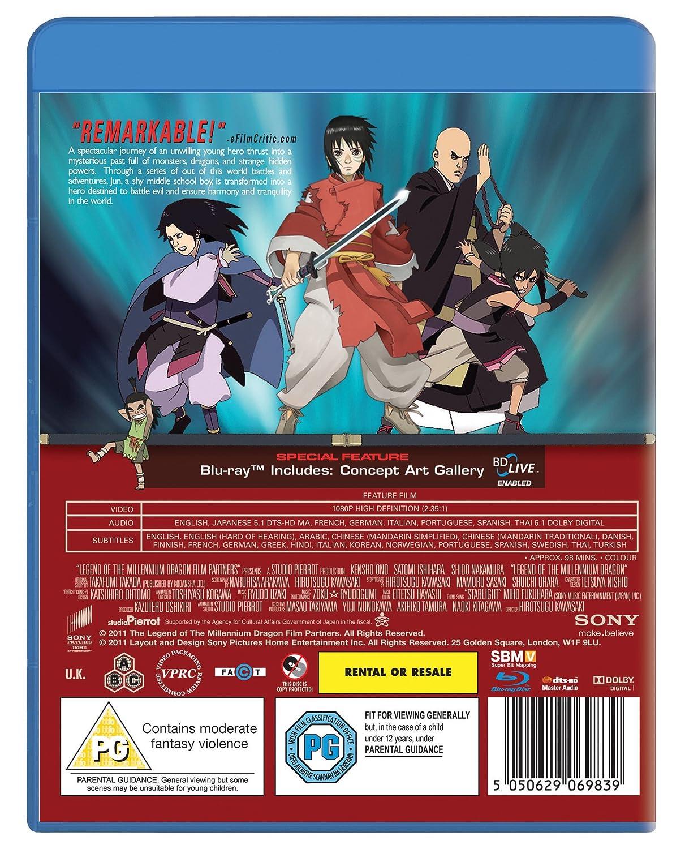 Legend Of The Millennium Dragon Blu Ray UK Import Amazonde