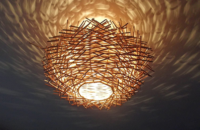 rattan lighting. Unusual Hand Made \ Rattan Lighting