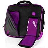 Purple Business/College Messenger Bag/Briefcase