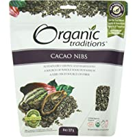 Organic Traditions Cacao Nibs Raw Food Diet, 227 Grams