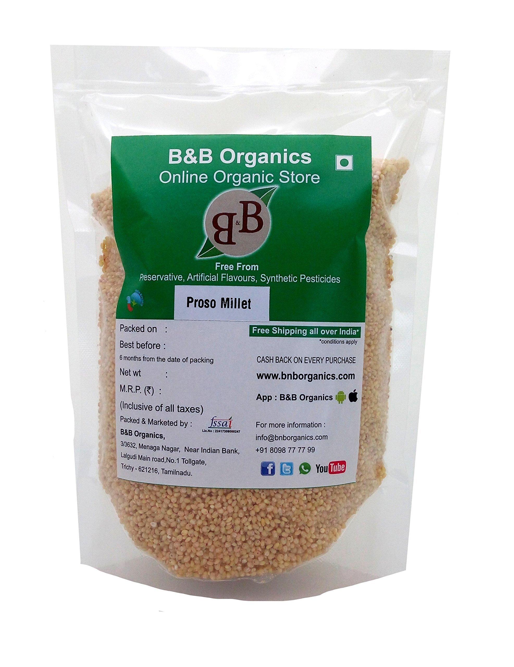 B&B Organics Proso Millet 1 kg