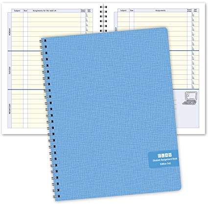 amazon com undated student assignment book s40 office products