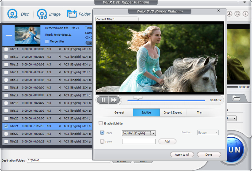 WinX DVD Ripper Platinum V8.5.1 [Download]