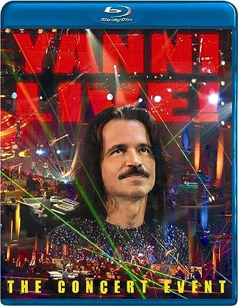 Amazon com: Yanni Live: The Concert Event [Blu-ray]: Charlie