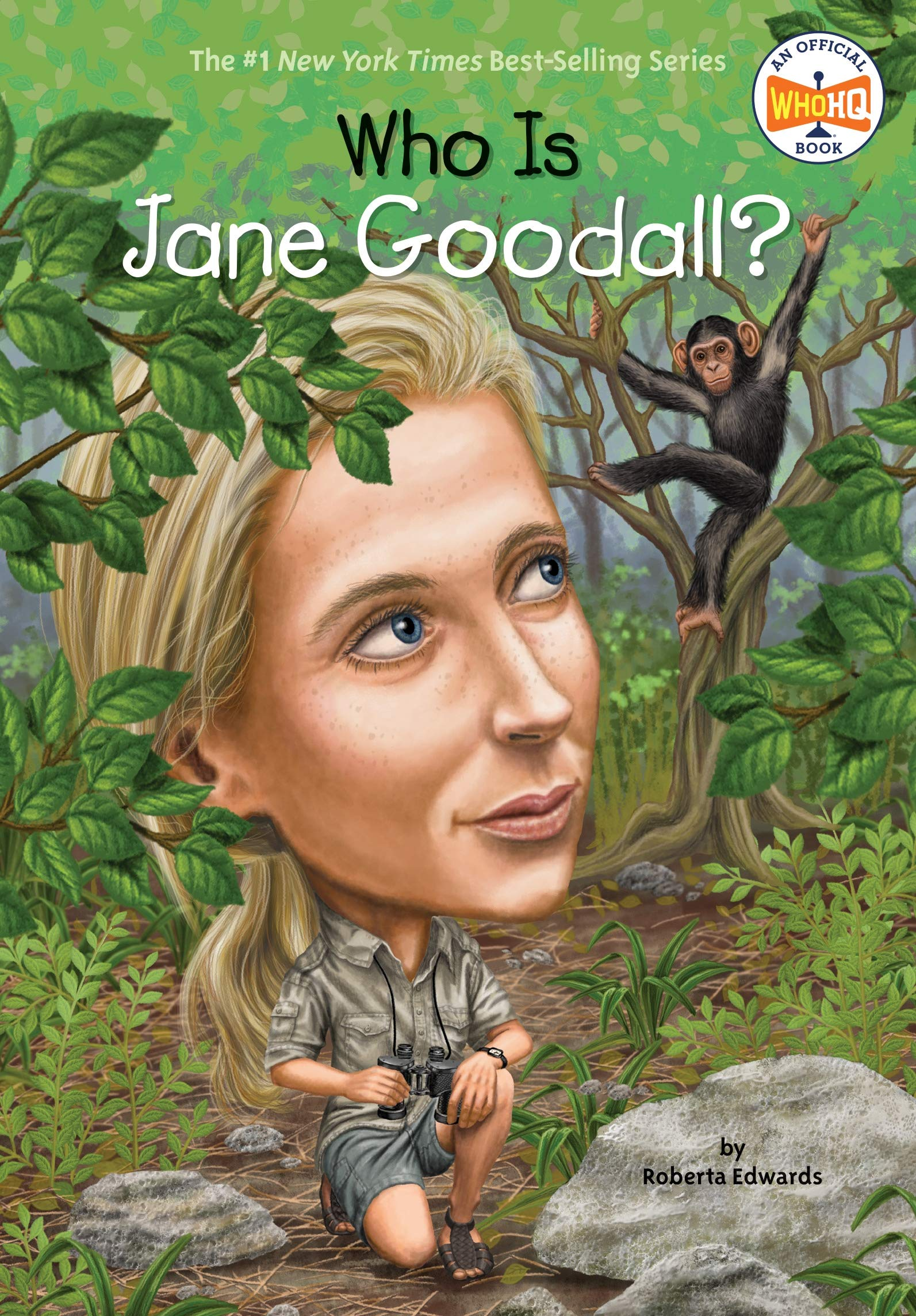 Who Is Jane Goodall? (Who Was?): Edwards, Roberta, Who HQ, O'Brien ...