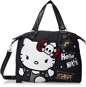 Loungefly Hello Kitty Punk Tote Bag  Amazon.co.uk  Toys   Games fff786d2df476