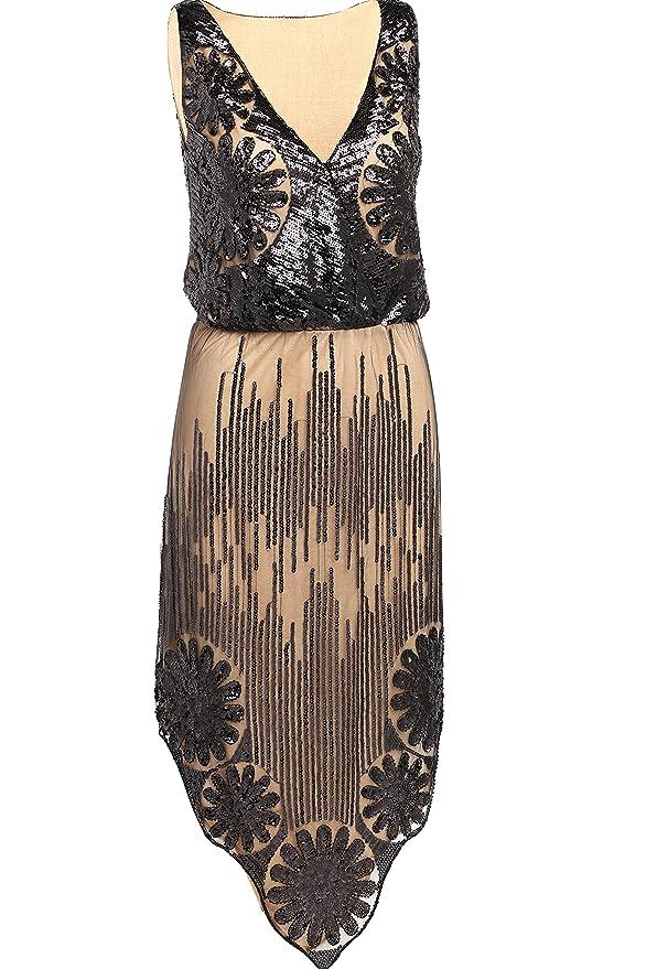 1920s Style Costumes Babeyond Fringe Flapper Art Deco 1920s Great Gatsby Dress Flapper Dresses $28.99 AT vintagedancer.com