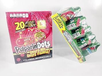 Amazon.com : Pack Pulaparindots Extra Hot And Lucas Muecas ...