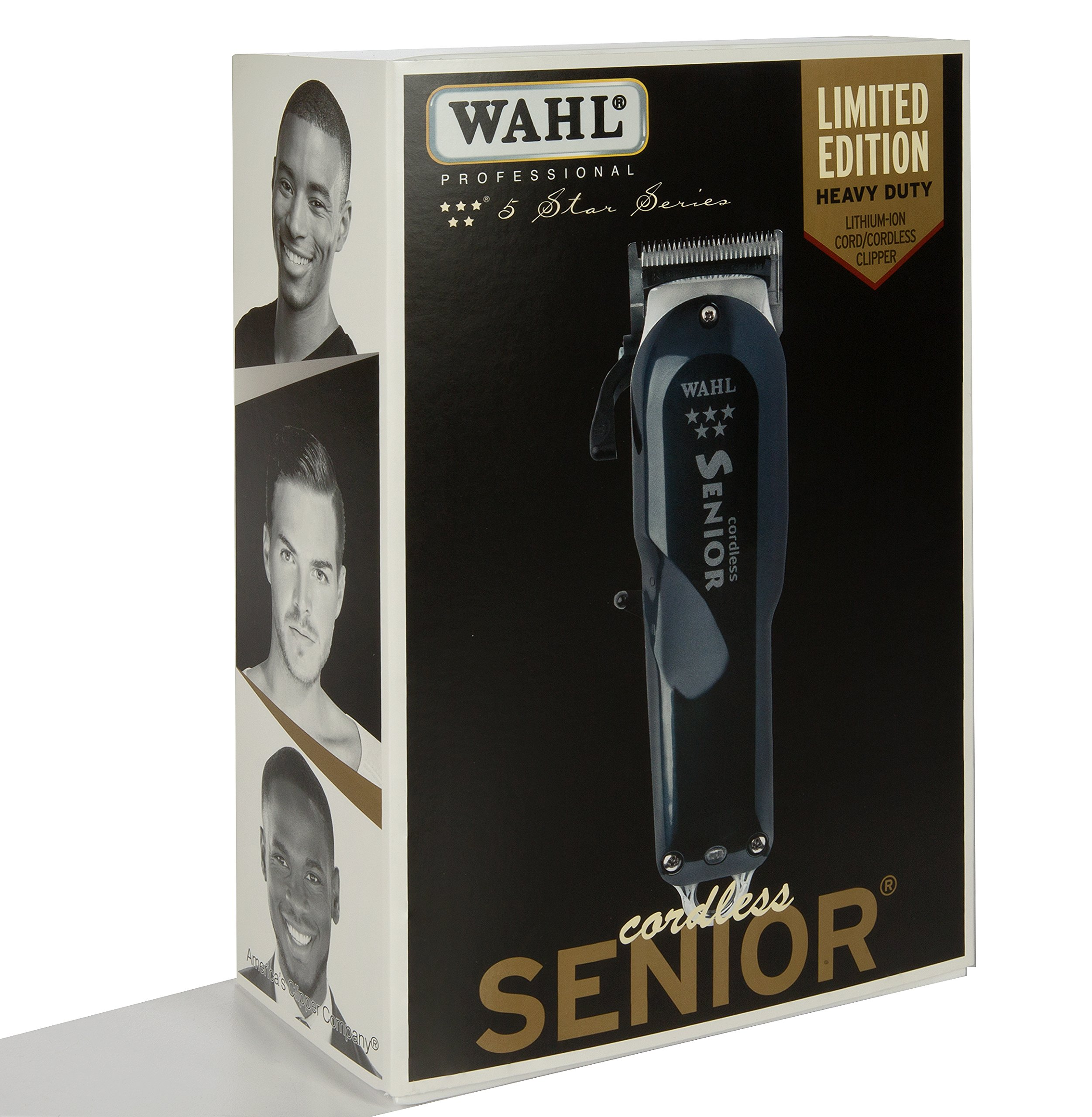 Wahl Professional 5-Star Series Cordless Senior Clipper #8504 – Great for Professional Stylists and Barbers – 70 Minute Run Time by Wahl Professional (Image #2)