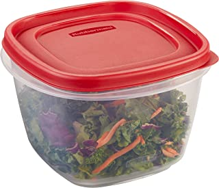 product image for Rubbermaid Easy Find Lid 7-Cup Food Storage Container, Red