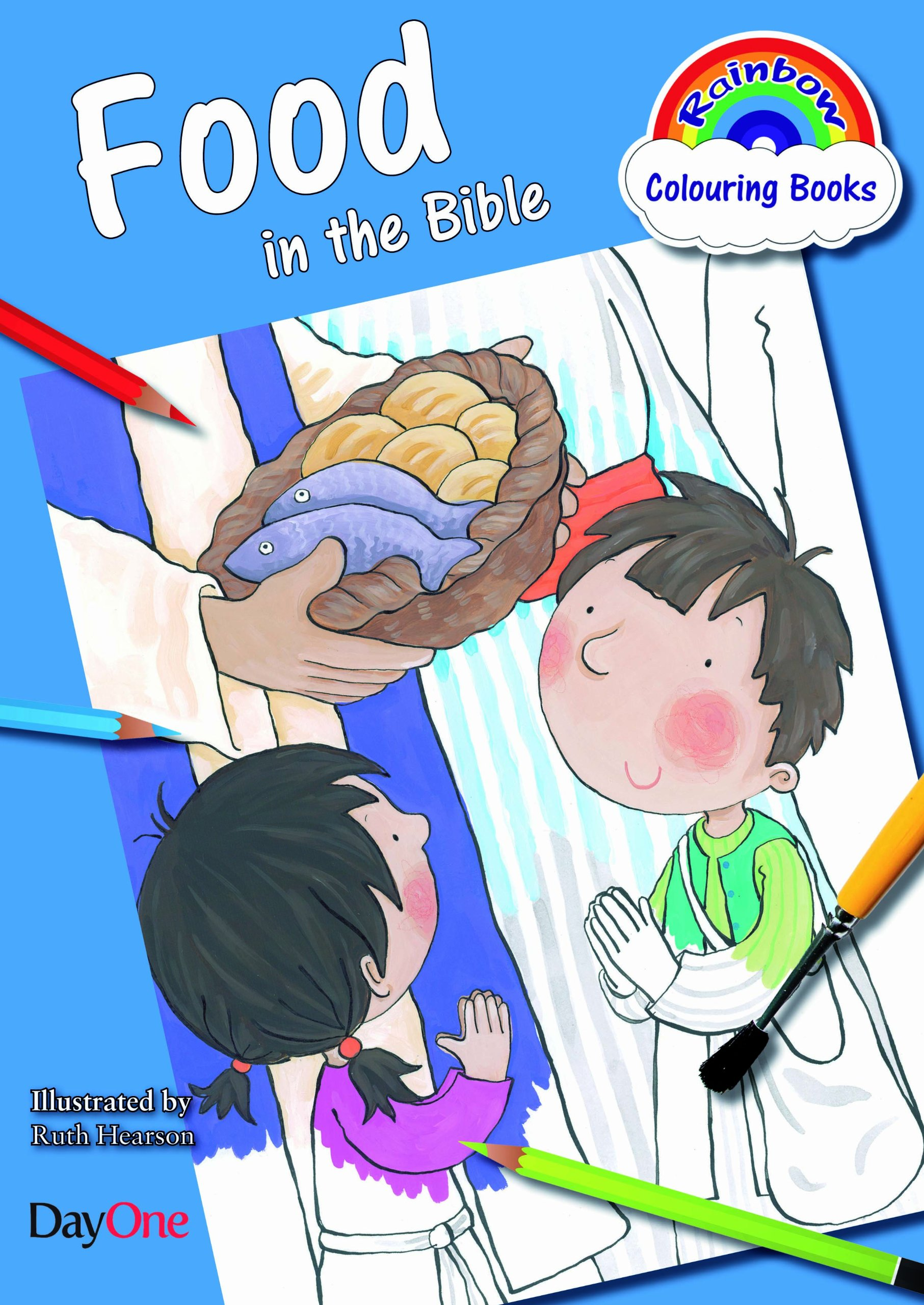 Food in the Bible (Rainbow Colouring Book) PDF
