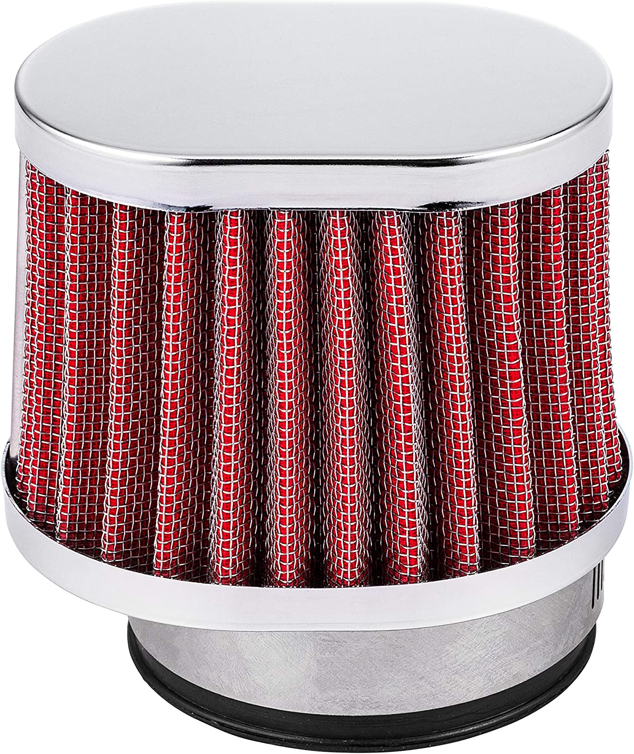 20.47Inch Motorcycle 52mm POD Oval Air Filter Filters Sold as A set of Four Washable and Reusable Breathers Cleaners Fit Yamaha 1984-2003 XJ600 etc Offered by ALPHA MOTO