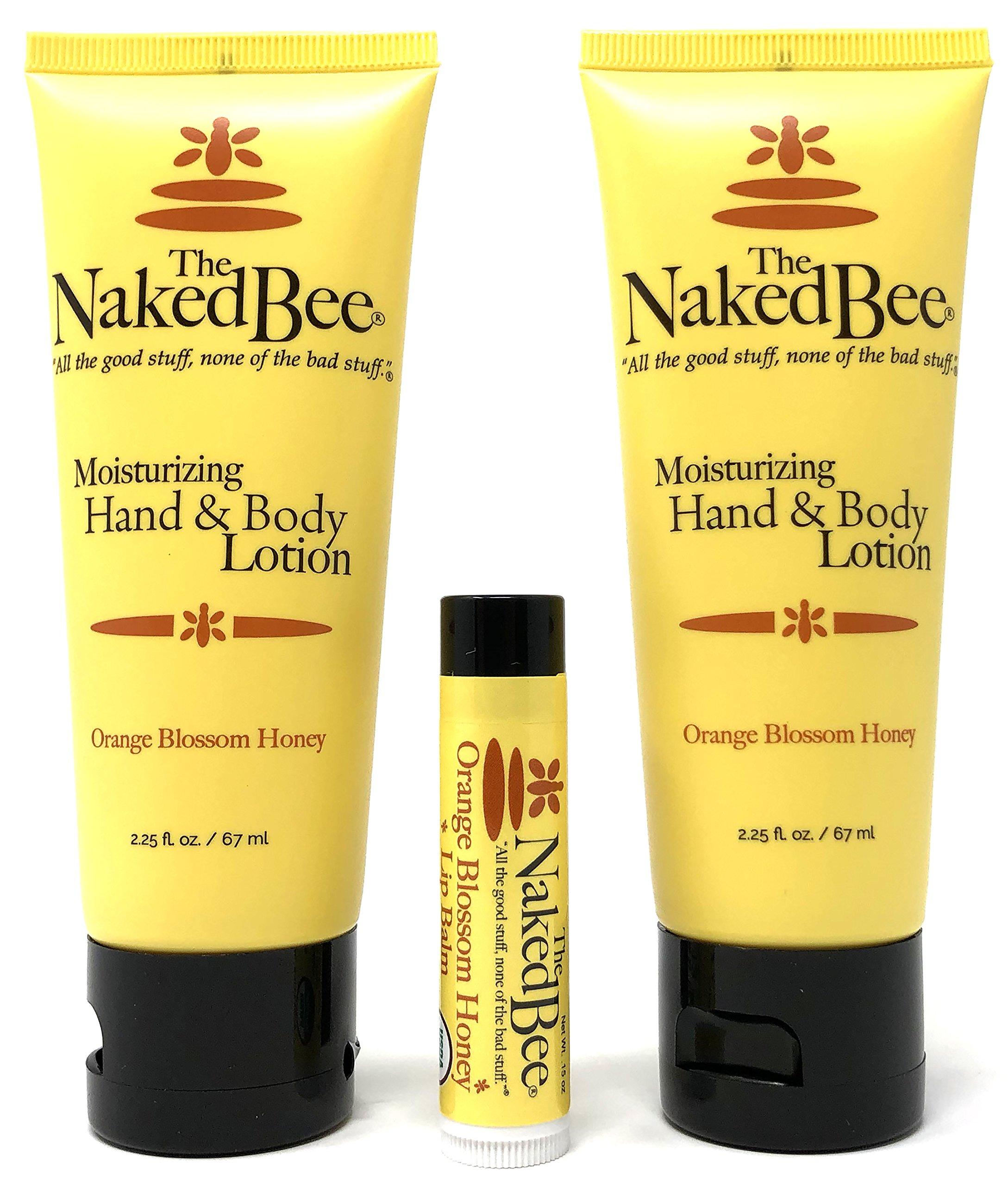 Amazon.com : The Naked Bee Orange Blossom Honey Hand