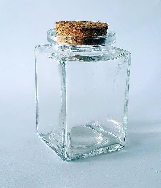 12 Botellas de deseo de vidrio transparente recipientes de vidrio frasco de vidrio con tapabocas Viales con tapas de corcho Contenedores de abalorios recipiente dep/ósito del de cristal vac/ío con tap/ón para el almacenamiento de alimento