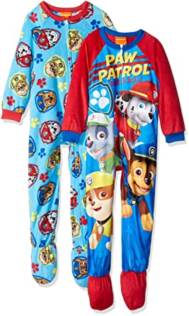 e95d8ae14123 Amazon.com  Nickelodeon Toddler Boys  Paw Patrol 2-Pack Fleece ...