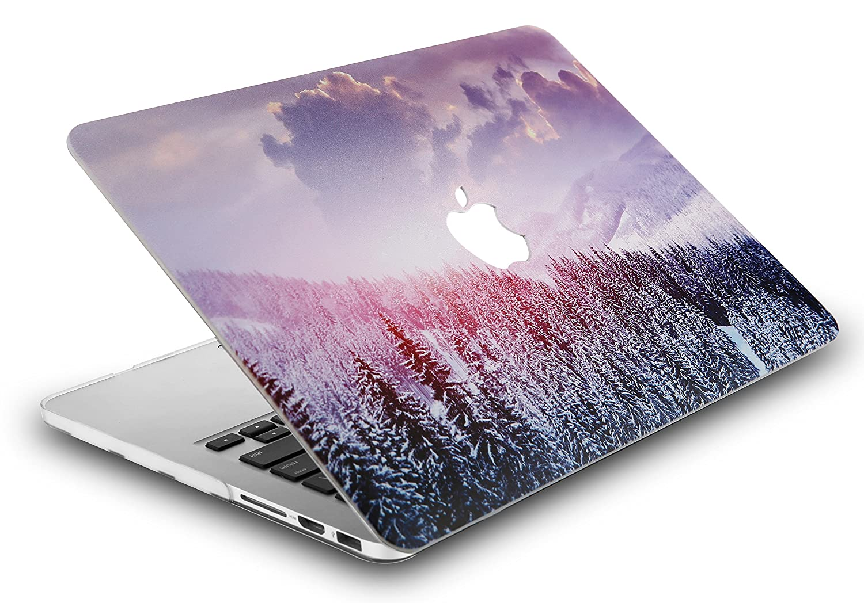 KECC MacBook Pro Retina 13 Pulgadas Funda Dura Case Cover Viejo MacBook Pro 13.3 Retina Ultra Delgado Pl/ástico {A1502//A1425} Monta/ña 2