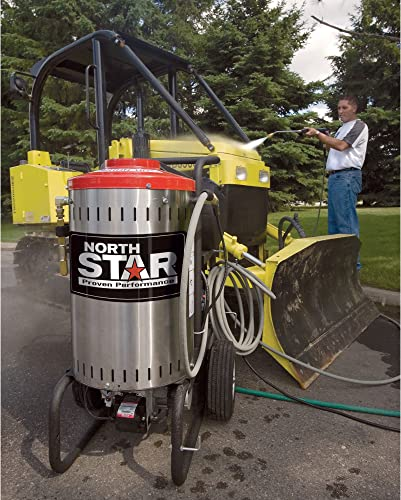 NorthStar Electric Wet Steam and Hot Water Pressure Washer – 2000 PSI, 1.5 GPM, 120 Volt